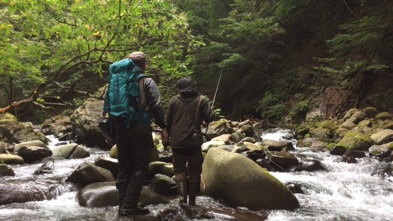 渓流釣り散策ツアー
