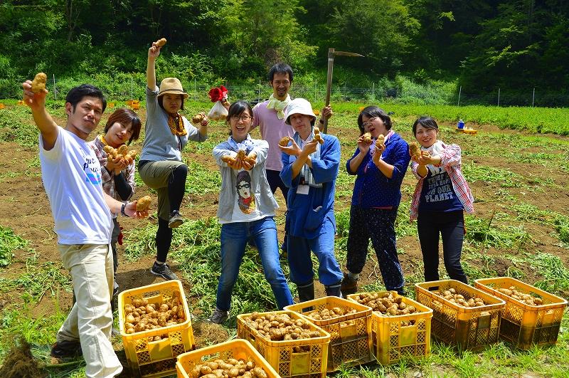 7月16日(土)ジャガイモ掘りDAY!2016開催決定