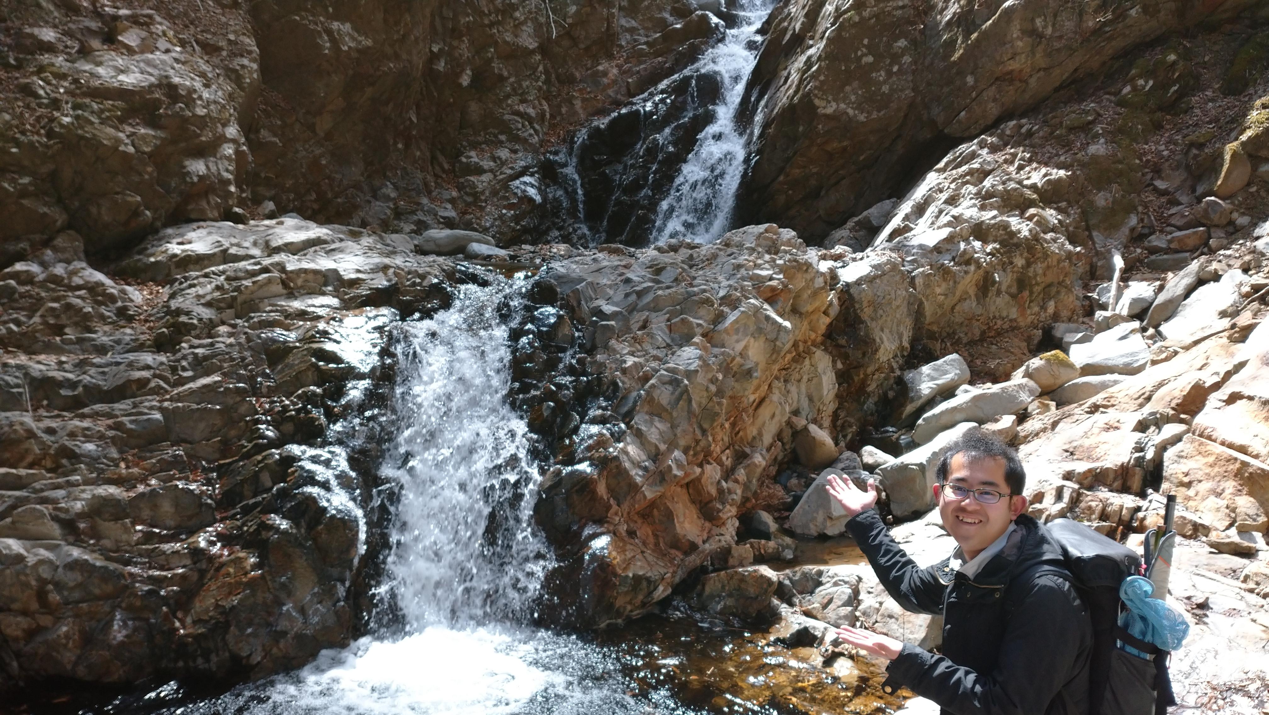 妙見五段の滝を見てきました